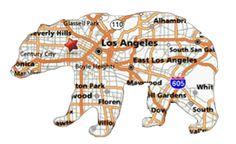 Los Angeles Bear Created by Edward Houstman