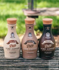 Califia Farms Iced Coffee with Almond Milk---Healthier Iced Coffee that tastes delish!    (now available nationwide)