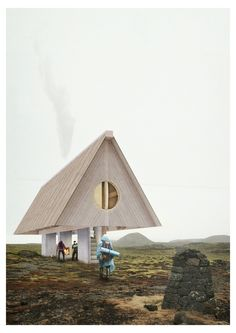 Image 1 of 37 from gallery of Iceland Trekking Cabins Competition Winners…