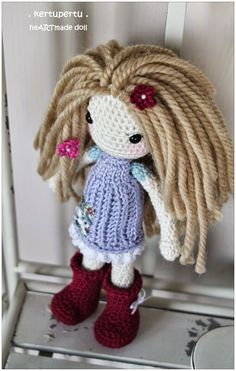 kertupertu. crochet. doll. amigurumi ♡
