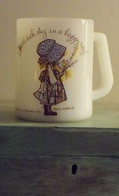 ~My favorite coffee mug..Holly Hobbie. Kyle broke mine... boo hoo HONK!ck~