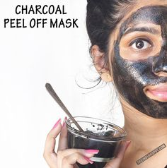 CHARCOAL PEEL OFF MASK FOR CLEAN AND CLEAR SKIN