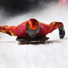 Here's how you can tell the difference between luge, skeleton and bobsled during the 2018 Winter Olympics. Bobsleigh, 2018 Winter Olympics, Luge, World Of Sports, Skeleton, Skeletons