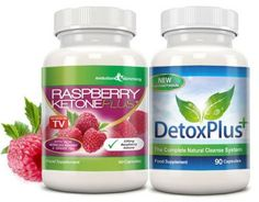 Raspberry Ketone Plus™ Colon Cleanse Combo Pack (1 Month Supply)
