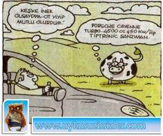 Karikatür: Keşke inek olsaydim..