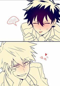 cc well i like yaoi and i assume it& totally ok well kiss? - cc well i like yaoi and i assume it& totally ok well kiss? My Hero Academia Episodes, My Hero Academia Memes, Hero Academia Characters, Boku No Hero Academia, My Hero Academia Manga, Cute Anime Guys, Anime Love, Bakugou Manga, Deku X Kacchan