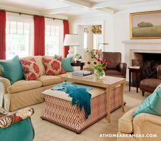 living room   Tobi Fairley & Associates