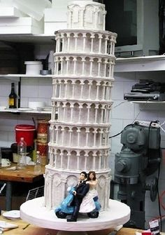 Cake Boss cakes - Leaning #Tower of #Pisa
