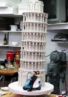 Cake Boss cakes - Leaning Tower of Pisa (16891111) - Fanpop