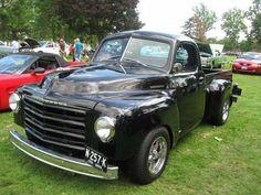 1951 Studebaker | Black 1951 Studebaker Pickup Car Photo | Studebaker Truck Pictures