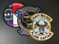 Custom Embroidered Military Patches for all branches of service