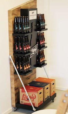 Montdor.dk Creative Agency Jacob Bjerring on Behance Retail Display for Lottrup Beer #Retail #Display #Beer
