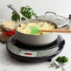 GreenPan Induction Cooktop, available at Rotten Fruit, New Flavour, Kitchen Tools, Kitchen Appliances, Learn To Cook, A Food, Meals, Dishes, House Styles
