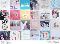 Project Life 2015 by Toni From using the Elle's Studio October kit.