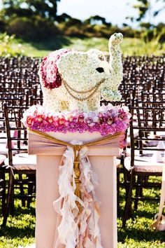 If I MUST have an elephant in my wedding :) hahaha