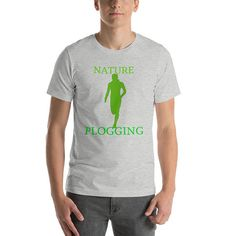 Swedish Plogging Fitness Craze Combines Jogging With Picking Up Litter Short-Sleeve Unisex T-Shirt