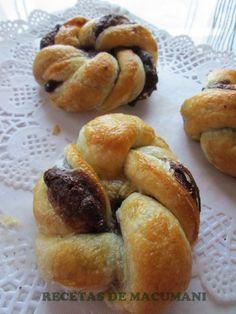 Ideas que mejoran tu vida Nutella, Cocina Natural, Pan Dulce, Chocolate Ganache, Coffee Break, Bagel, Doughnut, Donuts, Cake Decorating