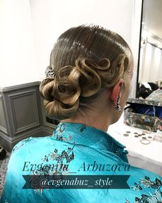 "30 Likes, 3 Comments - Evgeniia Arbuzova (@evgenabuz_style) on Instagram: ""Hairstyle by me#evgenabuzstyle#ballroom #ballroomdance #ballroomdancing #wdc #wdsf #стср #ртс…"""