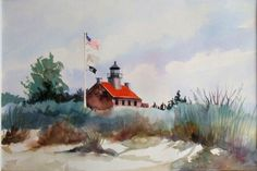 Sue Rau's watercolors embodies everything that I think of when I reflect on my time at the Jersey shore.