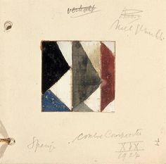 Theo van Doesburg.  Studie voor Contra compositie XIX Davos, Utrecht, Theo Van Doesburg, Collor, Famous Words, Art Database, Dutch Artists, Zine, Drawings
