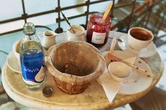 Delicious #Breakfast with #AlkalineWater  Pyszne śniadanie z #WodaAlkaliczna