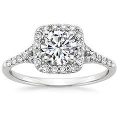 18K White Gold Harmony Ring from Brilliant Earth- I looooooove this ring