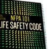 National Fire Protection Association's- Life Safety Code.  These are some of the code requirements that most haunts must follow just to be able to open their doors.  http://www.nfpa.org/codes-and-standards/document-information-pages?mode=code&code=101  Haunt  Safety  Protection  Fire Department Approval  Haunt Attraction