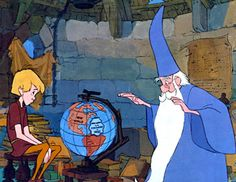 Merlin l'Enchanteur (film 1963) - Film d'animation - L'essentiel - Télérama.fr