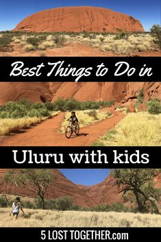 Things to do in Uluru with kids - how to visit Ayers Rock with kids including the best hikes, best attractions, where to stay, where to eat and more. Visit Australia, Australia Travel, South Australia, Ayers Rock Australia, Western Australia, Travel With Kids, Family Travel, Family Vacations, Family Adventure