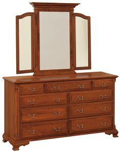 Amish Cherry Bedroom Sets: Amish Solid Oak U0026 Cherry Furniture Brooklyn  Bedrooms: Amish