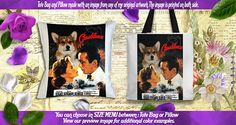 Australian Shepherd Pillow/Aussie Tote Bag/Aussie Art/Aussie Portrait/Dog Tote Bag/Dog Pillow/Custom Dog Portrait/Casablanca Movie Poster by NobilityDogs on Etsy