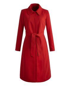 """Joanna Hope"" Joanna Hope Fit and Flare Coat at Simply Be $145"