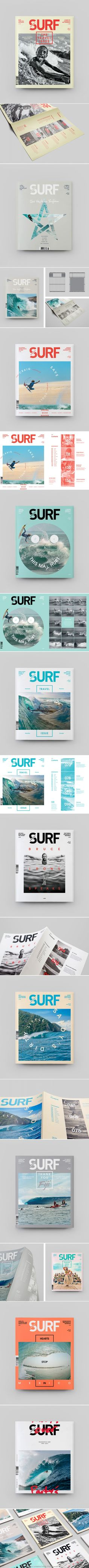 Inspirational Modern Magazine Re-Design – Transworld Surf