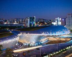 dongdaemun design park & plaza by zaha hadid in seoul opens