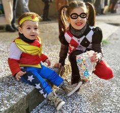Super Hero Girls - Wonder Woman & Harley Quinn - www.momeme.it