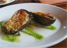 buddy valastro stuffed eggplant (stuffed with mozzarella, mortadella, tomatoes...)