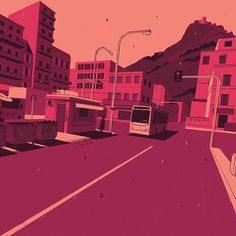 A story from the suburbs of Palermo, written by Corrado Fortuna and illustrated by me on Donna Moderna