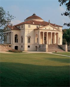 The Villa Rotunda by Italian Renaissance architect Andrea Palladio
