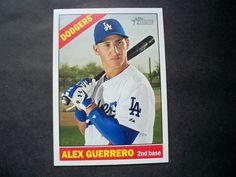 2015 Topps Heritage #695 Alex Guerrero Dodgers NM/MT