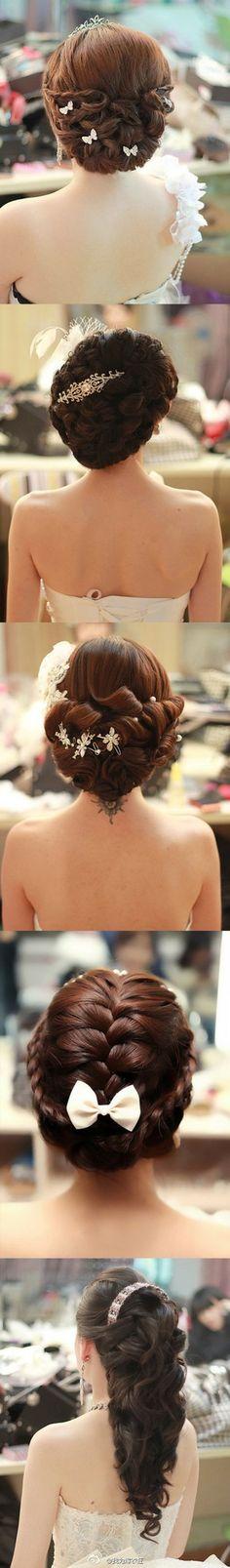 五款漂亮的新娘发型,精致优雅 - 堆糖 发现生活_收集美好_分享图片
