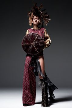 TAKASHI NISHIYAMA 2012 womens collection look