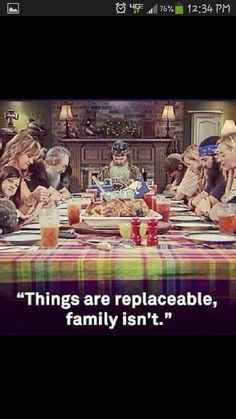 Duck dynasty, the Robertson's....a family that prays together stays together