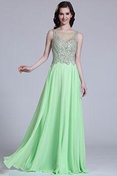 Robe de soirée longue verte menthe sans manche à sequins #edressit #robe #soirée #bijoux #couleur #printemps #remise #solde #bonbon #doux #femme #mode #branché #sexy #élégant #cadeau