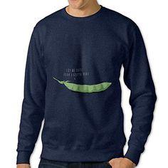 cadd8e0f1 Amazon.com   Stickle Men s Pullover Awkward Timing Long Sleeve Shirt Navy  3X   Sports   Outdoors
