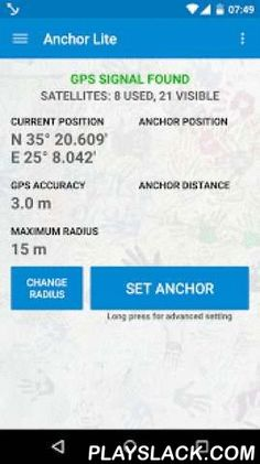Anchor Watch / SMS / Alarm  Android App - playslack.com , WARNING: If the application crashes on start on Android 6.0, please go to Android settings and allow all permissions for the Anchor app. We are working on the fix for the issue.This application is Anchor watch, position logger, SMS alarm and Sound Alarm and it monitors device's current location and inform you if the location of the device moves to far away from the set anchor. In that case, it will sound an alarm and (if you select…