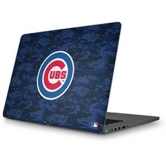 Chicago Cubs Digi Camo MacBook Skin. Available as a case or skin for multiple devices. Shop now at www.skinit.com #MLB #Chicago #Cubs #baseball #macbook #laptop #macbookskin
