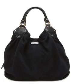 Paul s Boutique Gracie shoulder bag in Black Slouchy Suede. Online now  4f8cd12a95e