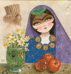 Iran Politics Club: Iranian Art & Literature, Persian Miniatures & Paintings, Persian Art & Lit
