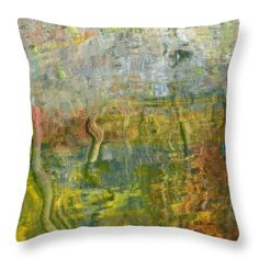 Tranquility Throw Pillow by Elizabeth Cope May. Multi sizes available at  ElizabethCopeMay.com