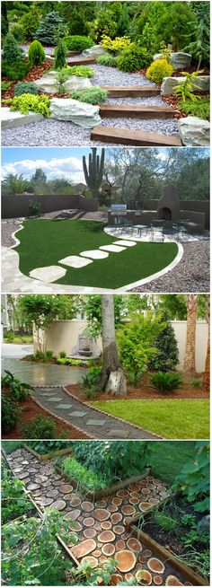 Take a Step on 15 Garden Pathway Designs A garden with a good landscape sure looks inviting. It seems to encourage you to take a dose of its beauty merely by sitting on its seating area of by walking around it. But a garden with mere plants scattered all around would be like a small...
